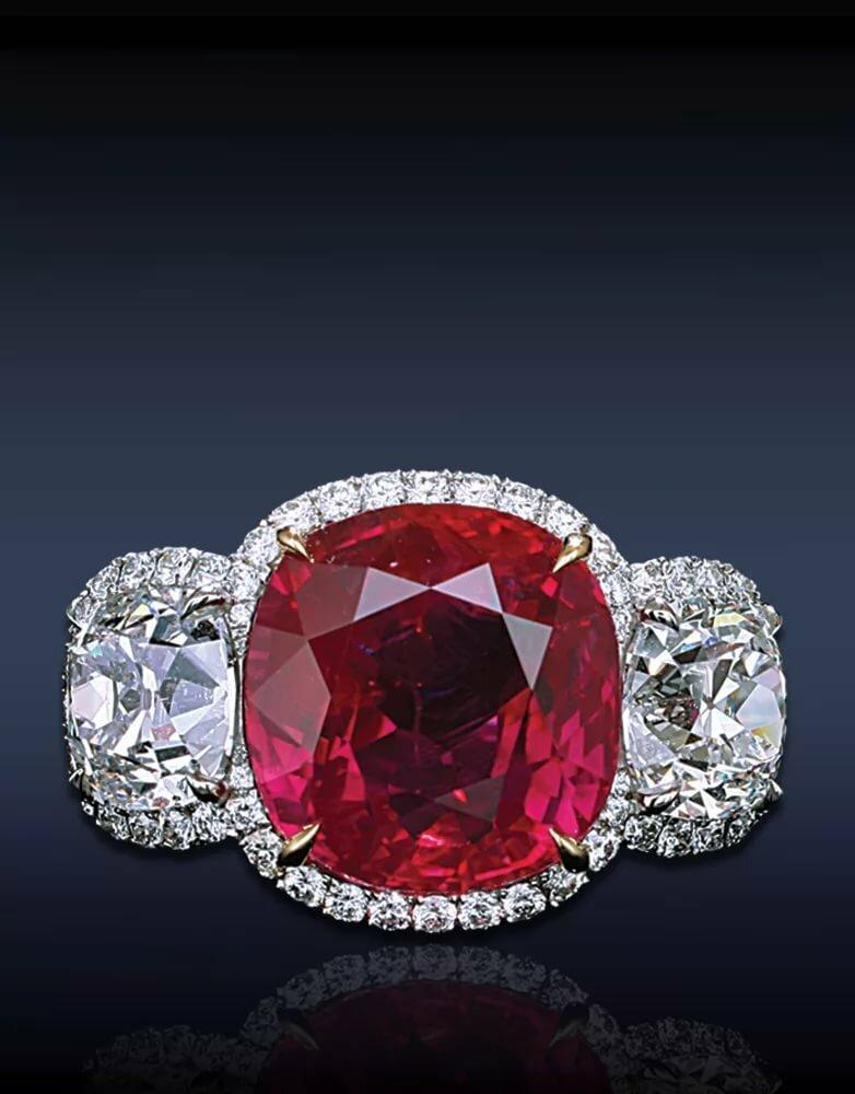 показывают, что картинка красных бриллиантов верхний корж намазать