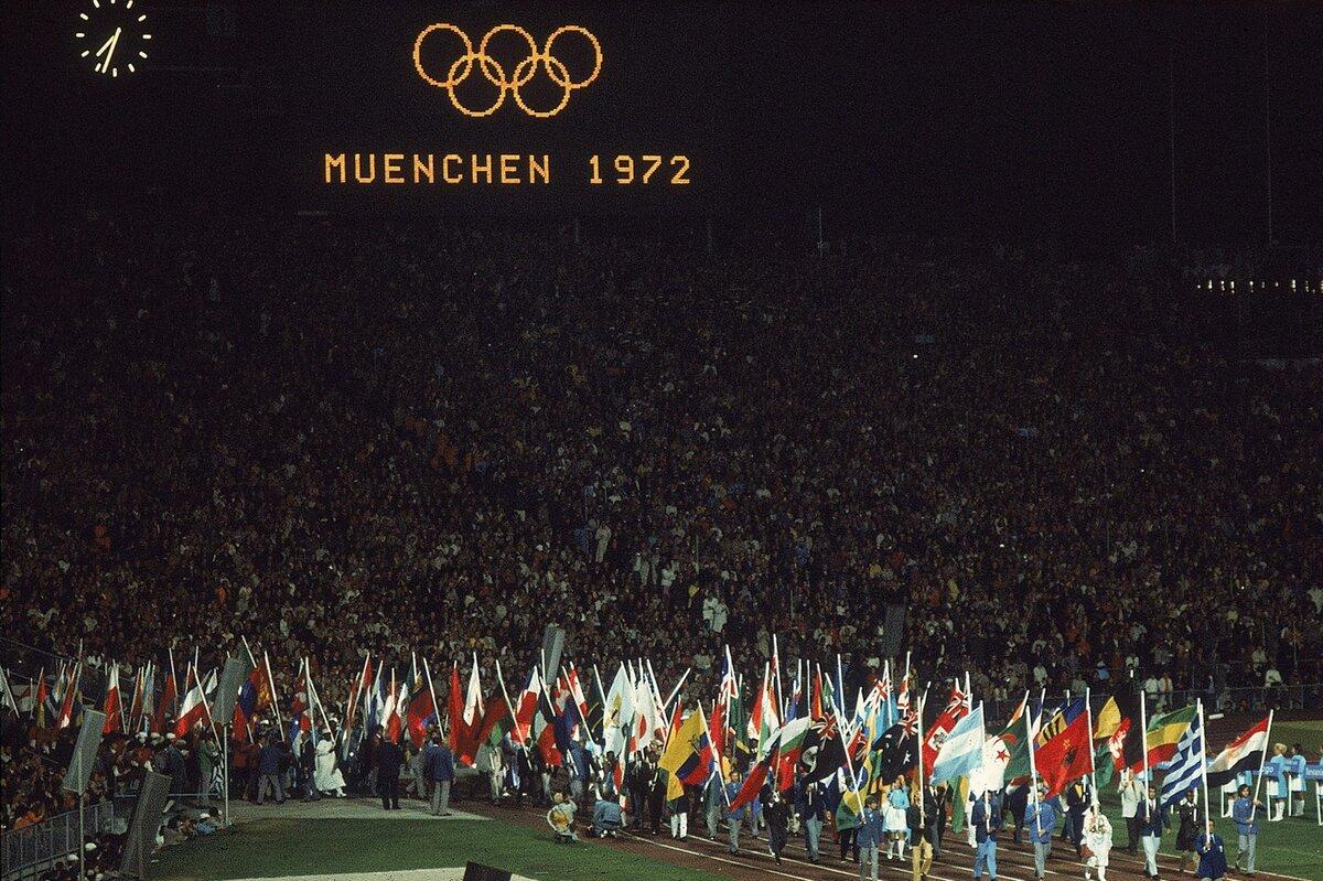 26 августа 1972 года открылись XX летние Олимпийские игры в Мюнхене (Германия)