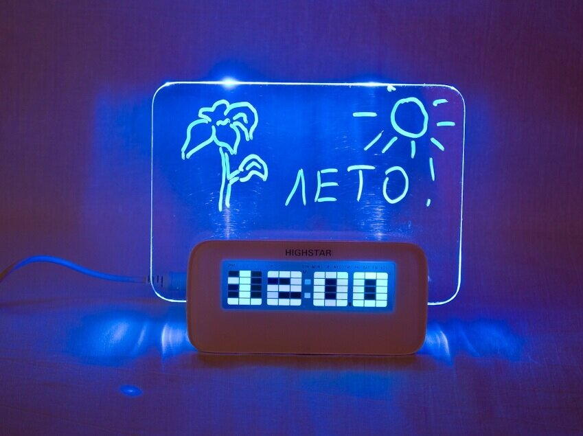 Часы-Будильник HIGHSTAR в Дне