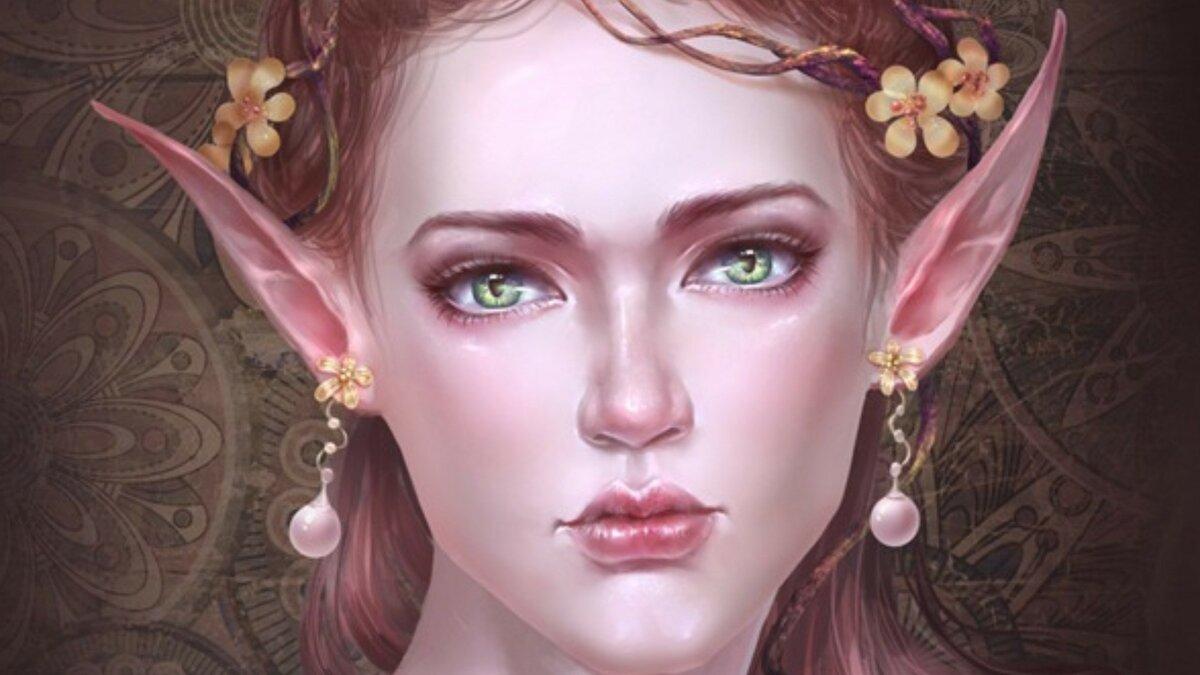 Эльфийская принцесса картинка