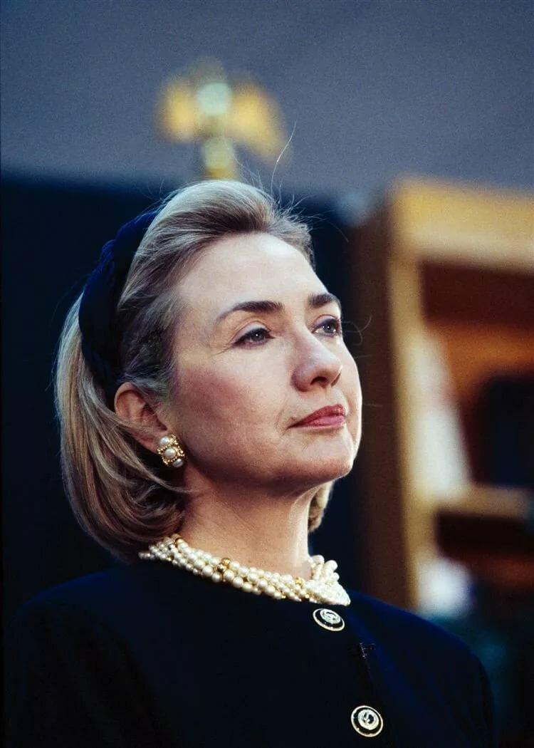 молодая хиллари клинтон фото