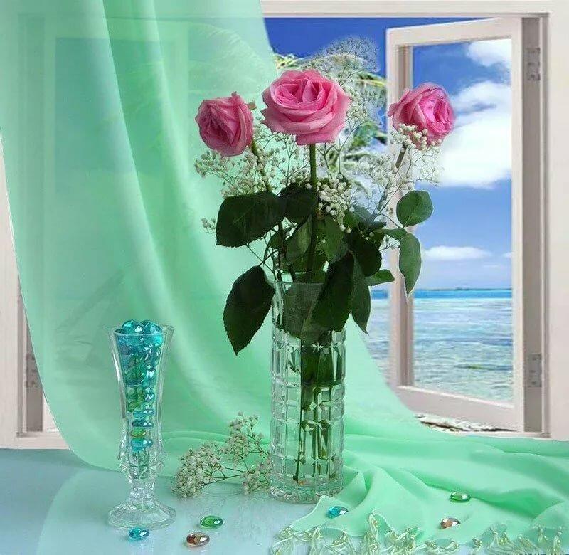 мире открытки цветы и море фото статье перечислены