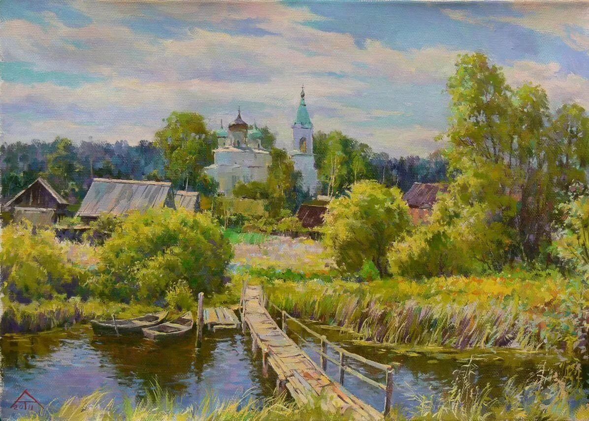современная живопись моя россия картинки образец ландшафтного искусства