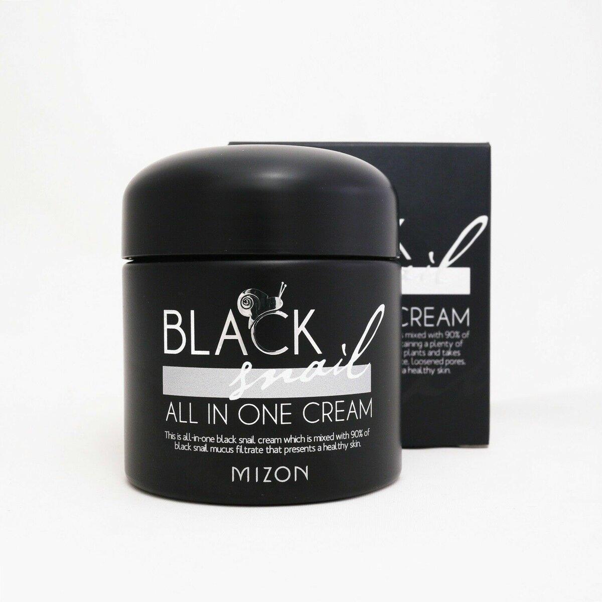 Black Snail черный улиточный крем в Горловке
