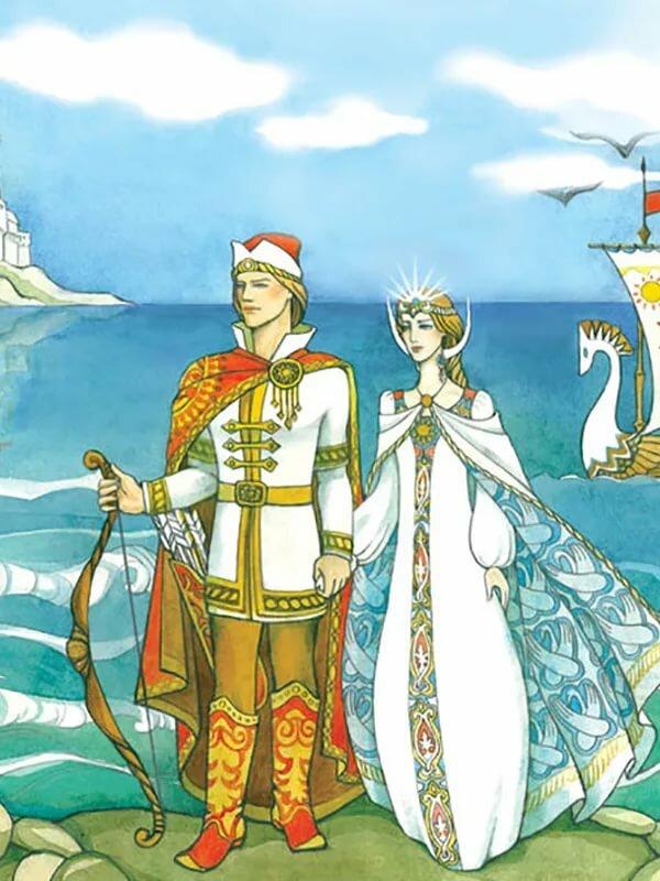 Картинка князя гвидона