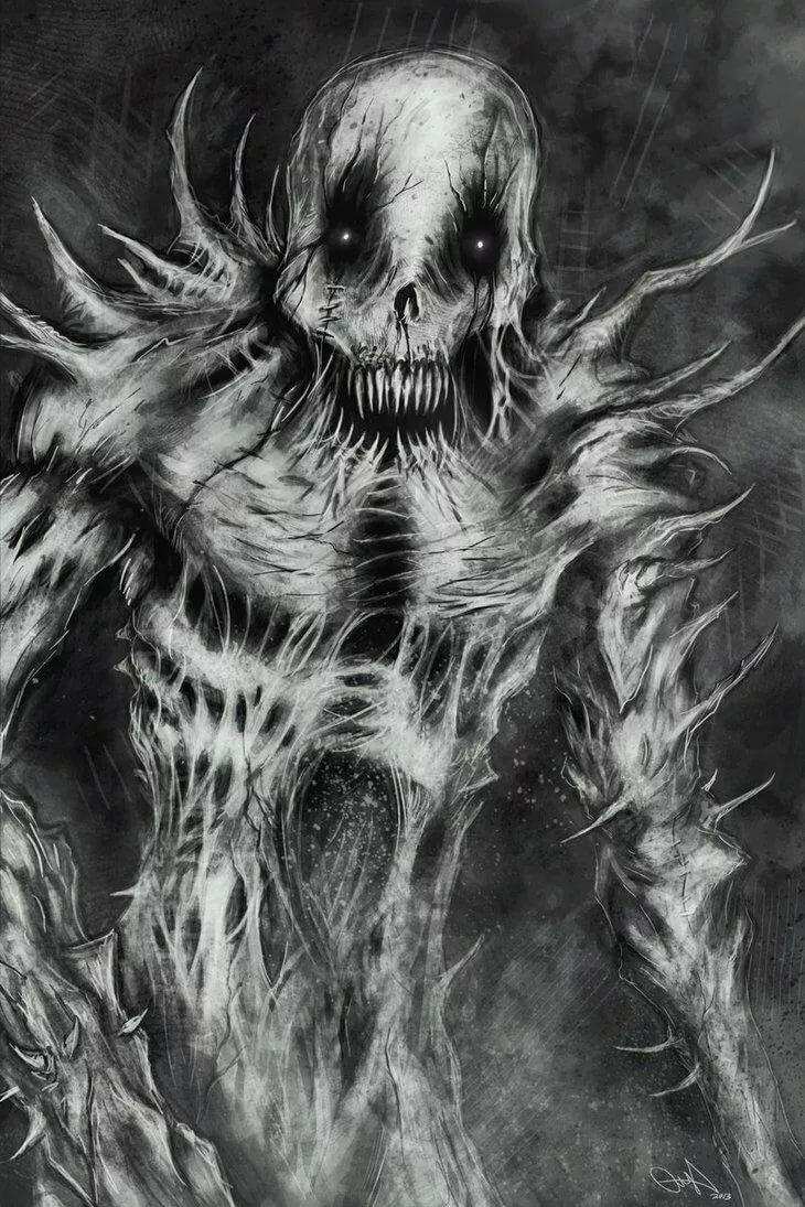 Картинки жутких монстров