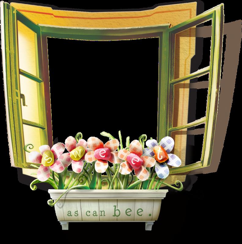 Окно картинки для детей на прозрачном фоне
