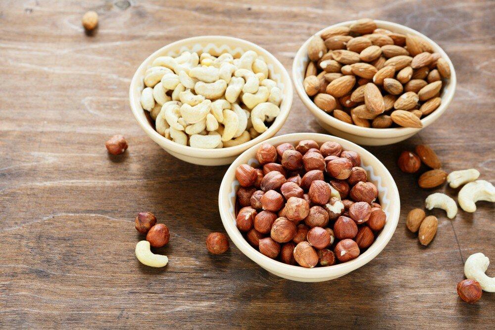 какие орехи употреблять на диете