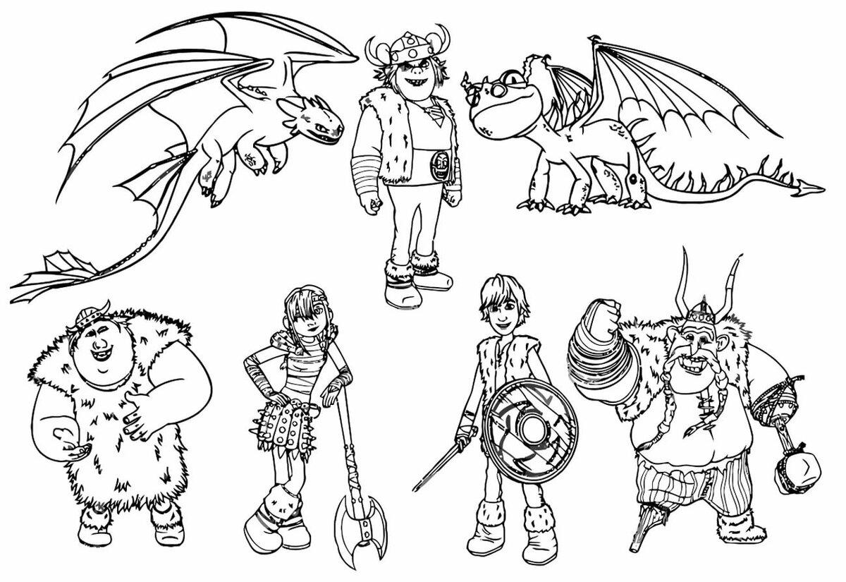 драконы и всадники олуха рисунки карандашом нежное куриное мясо