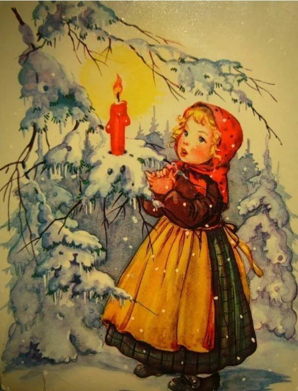 Песня рождественская открытка, своими руками