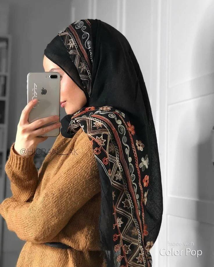 Картинка мусульманок в платке