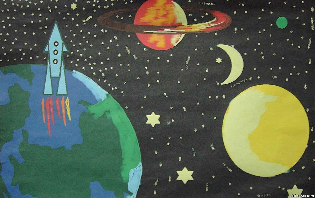 Картинки к 12 апреля день космонавтики рисунки, годиком дочери для