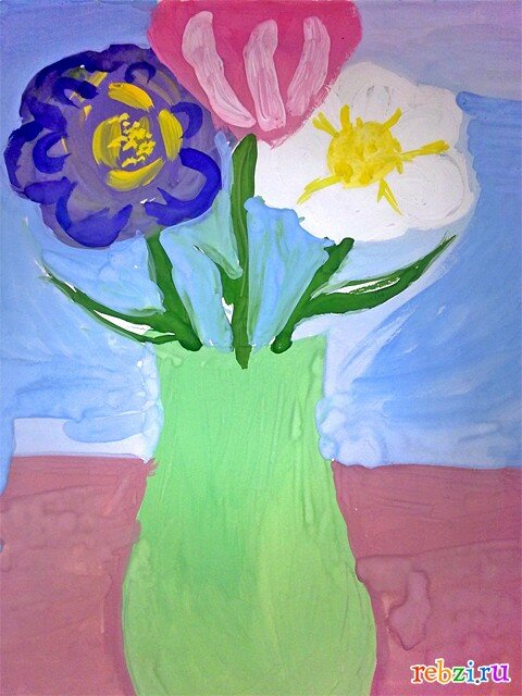 Картинка для мамы на 8 марта для детей 4-6 лет