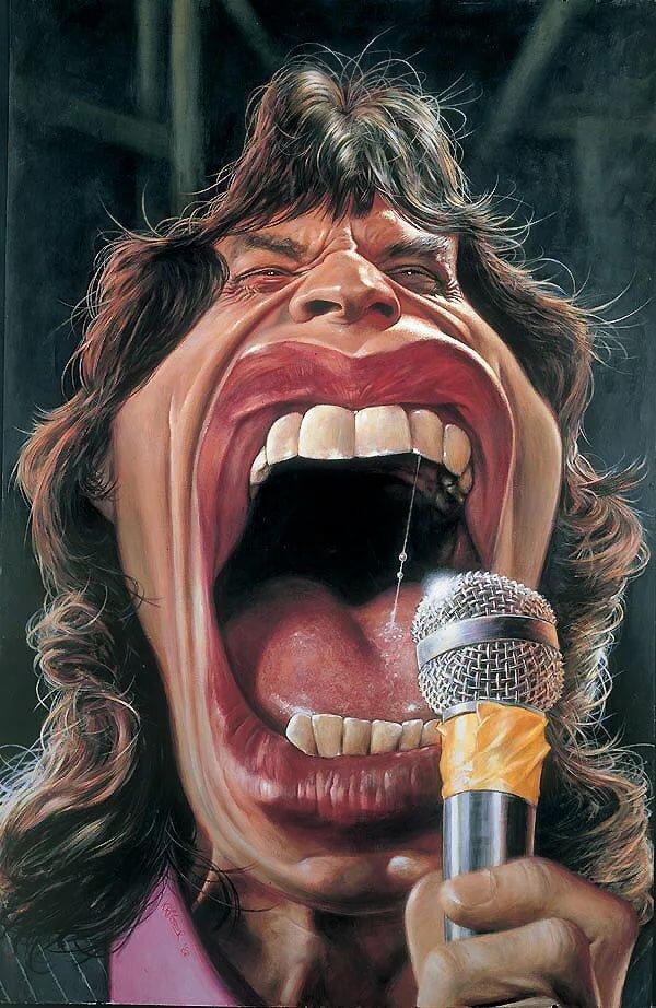 Картинки певцов смешные