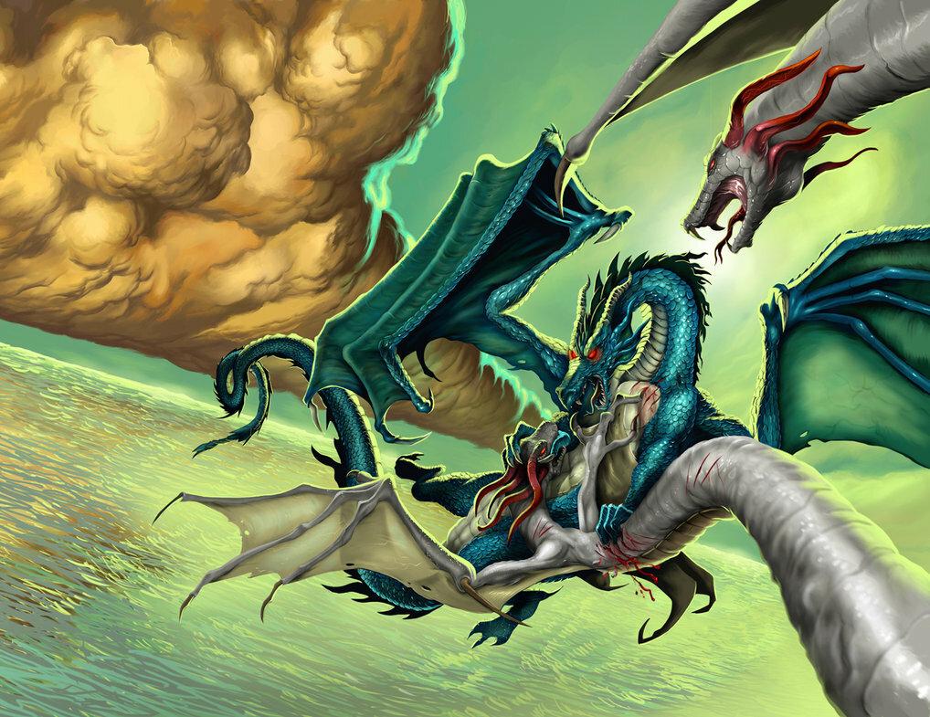 картинки драконы в сражениях будет