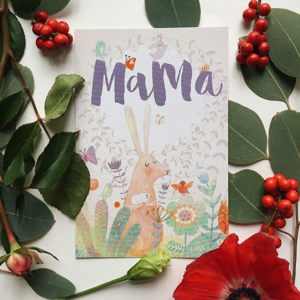Открытка, топ открыток для мамы