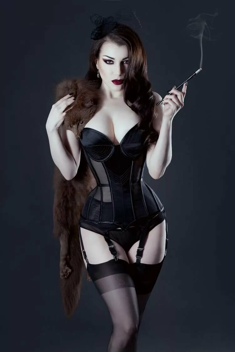 Weijiao sexy gothic corset dress shiny leather boned bustier top lace clubwear corselet
