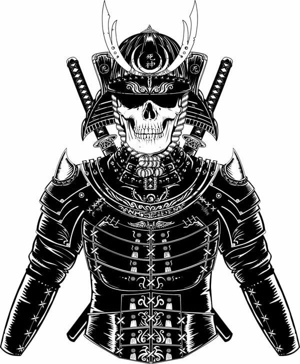находится картинка доспех самурая на аву шарнир представляет