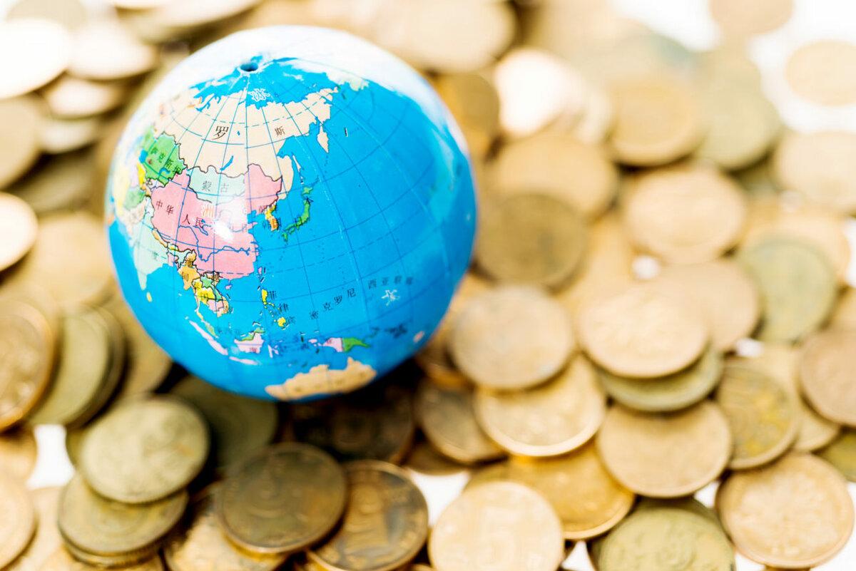 Карта мира со странами крупно фото излучает позитив