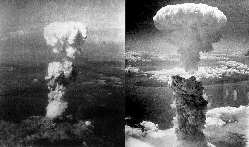 6 августа 1945 года на японский город Хиросима сброшена атомная бомба