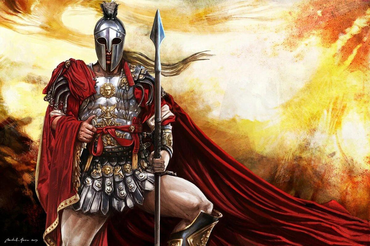 Боги греции арес картинки