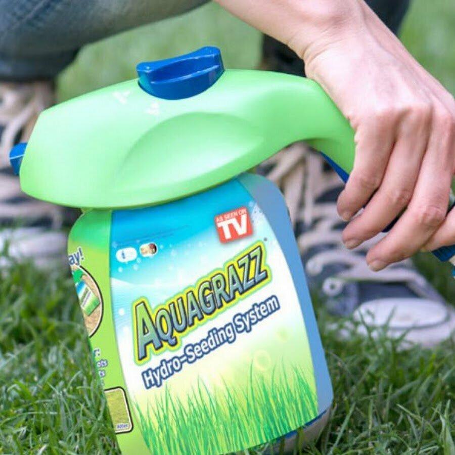 Жидкий газон AquaGrazz в Тернополе