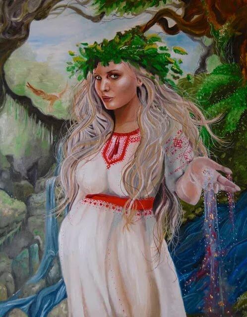жива богиня славяне картинки тебе встретить