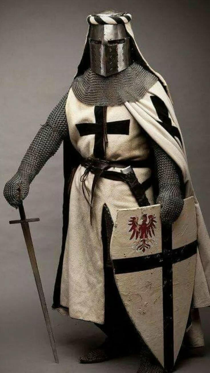 фотографии рыцарей крестоносцев тоже