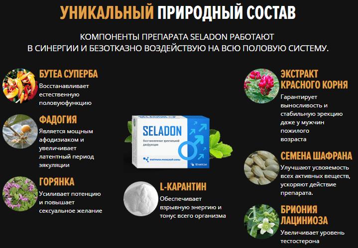 Seladon для повышения потенции в Кадникове