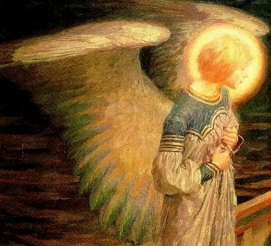Гифки ангелов и архангелов есть