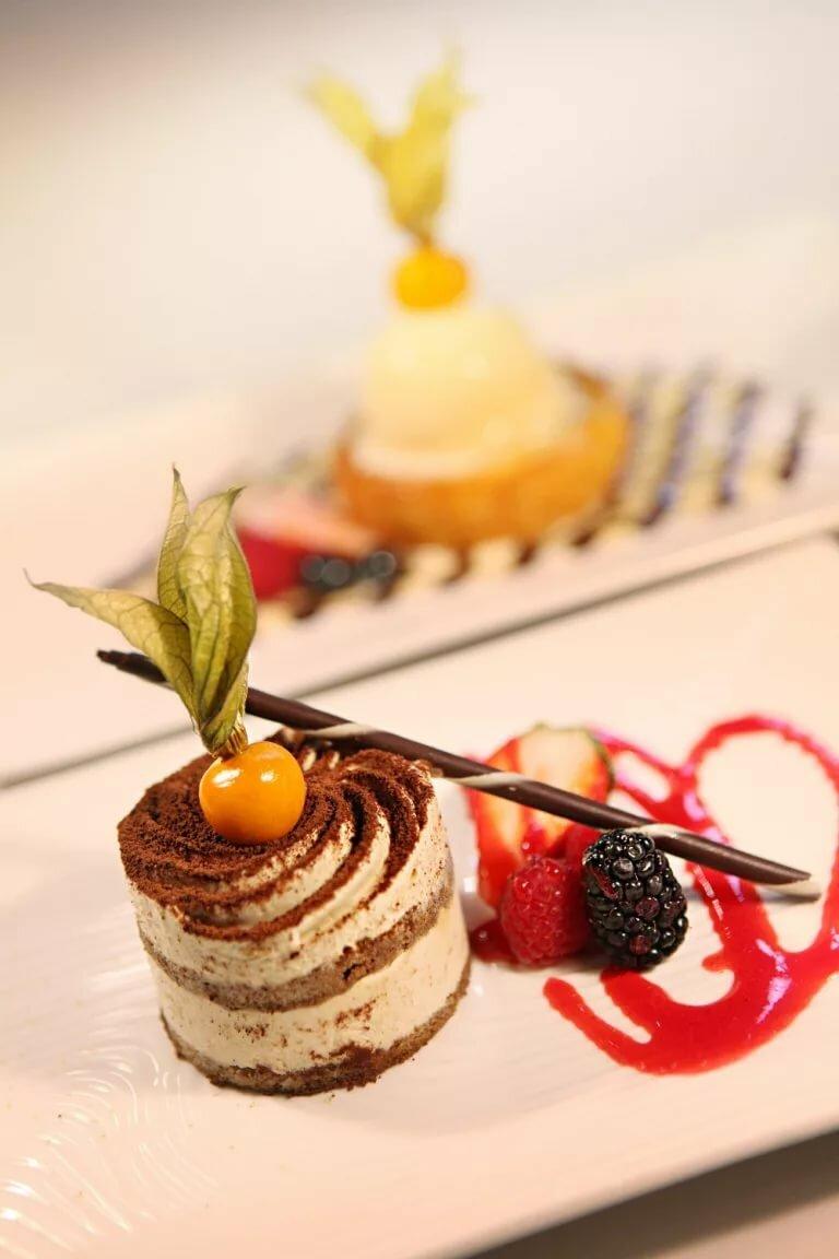 Украшение десертов фото