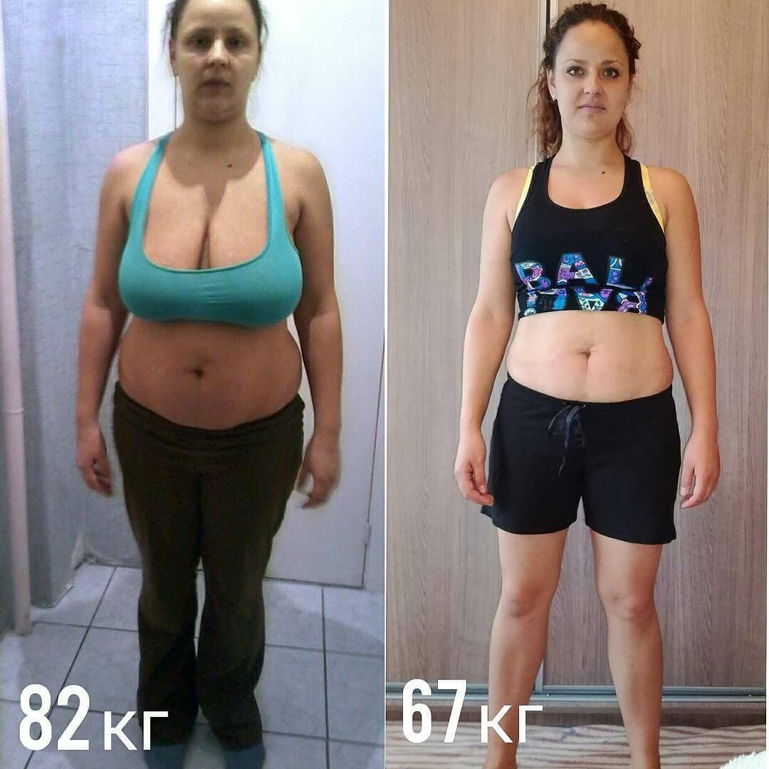 Похудение за месяц норма