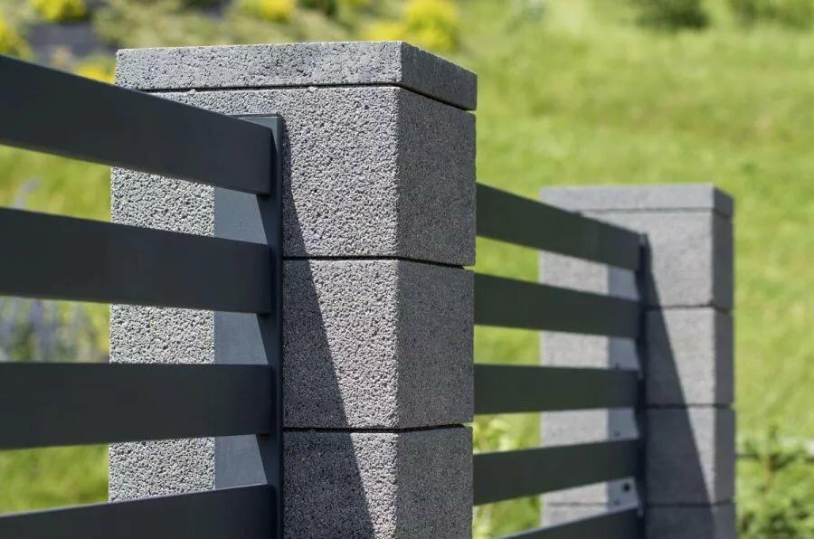 заборные столбы из бетона