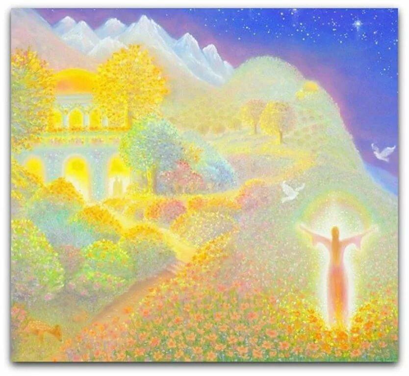 божественный сад картинки все ступени простого