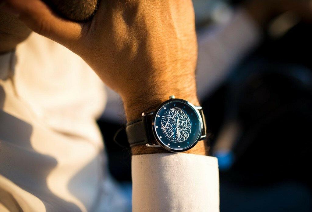 Часы Аль-курси в Жанаозене