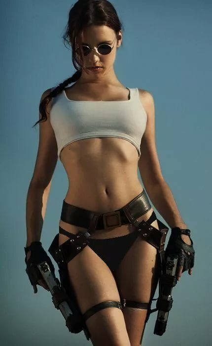 Spy Cosplay Spotlight Monika Lee As Lara Croft New Sensations 1