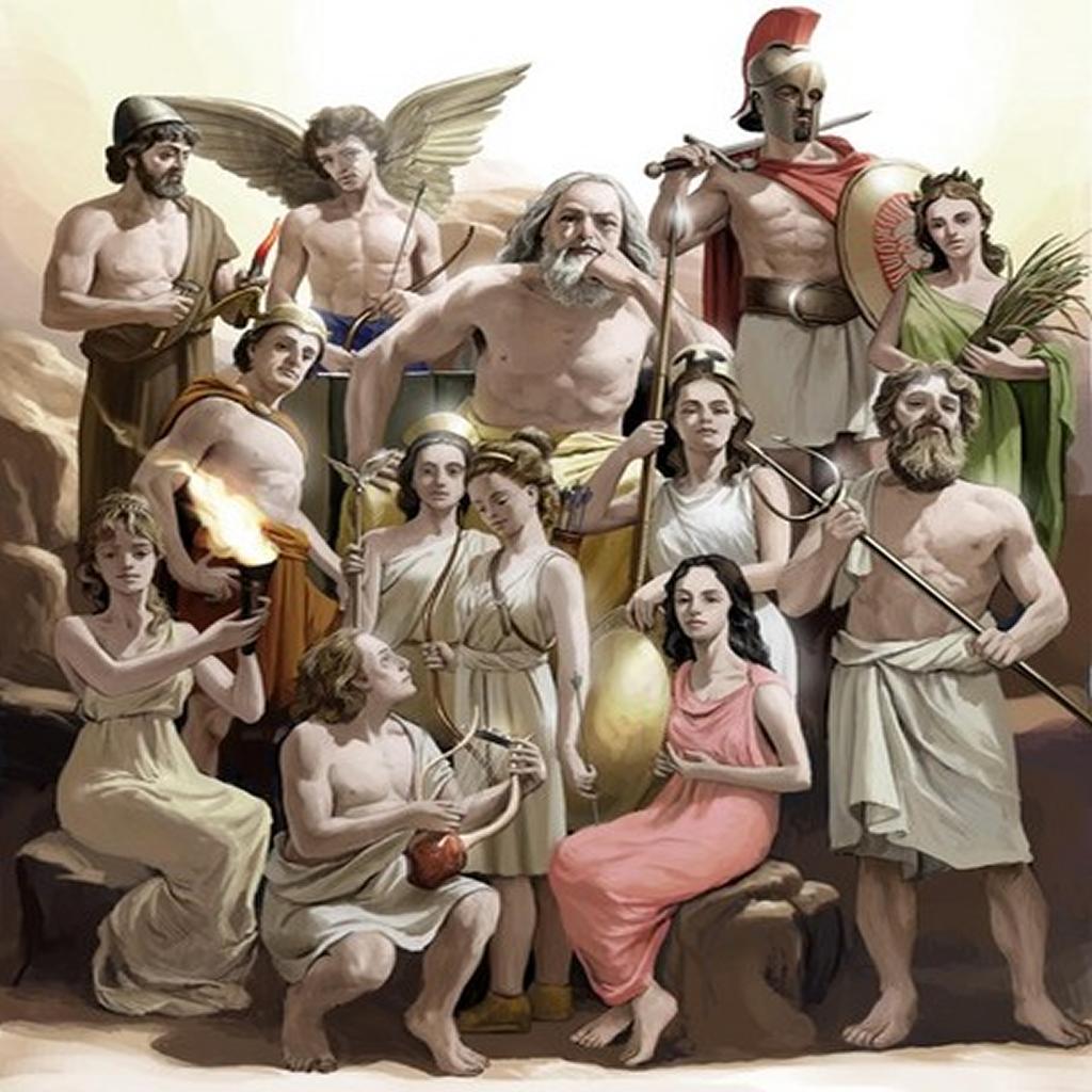 Поздравление двойняшками, смешные картинки боги олимпа