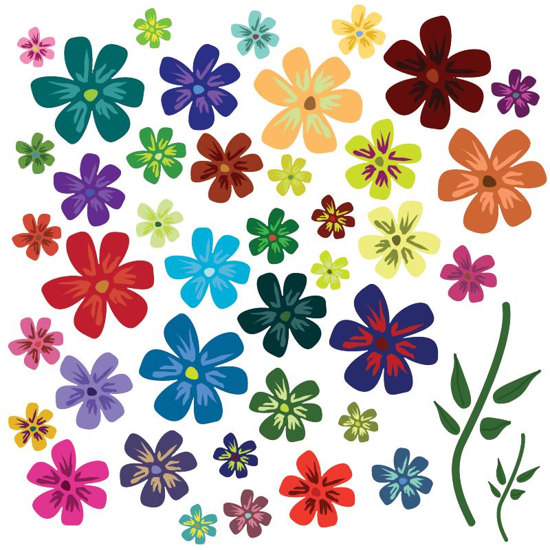 Цветочки на открытки маленькие, физиономия