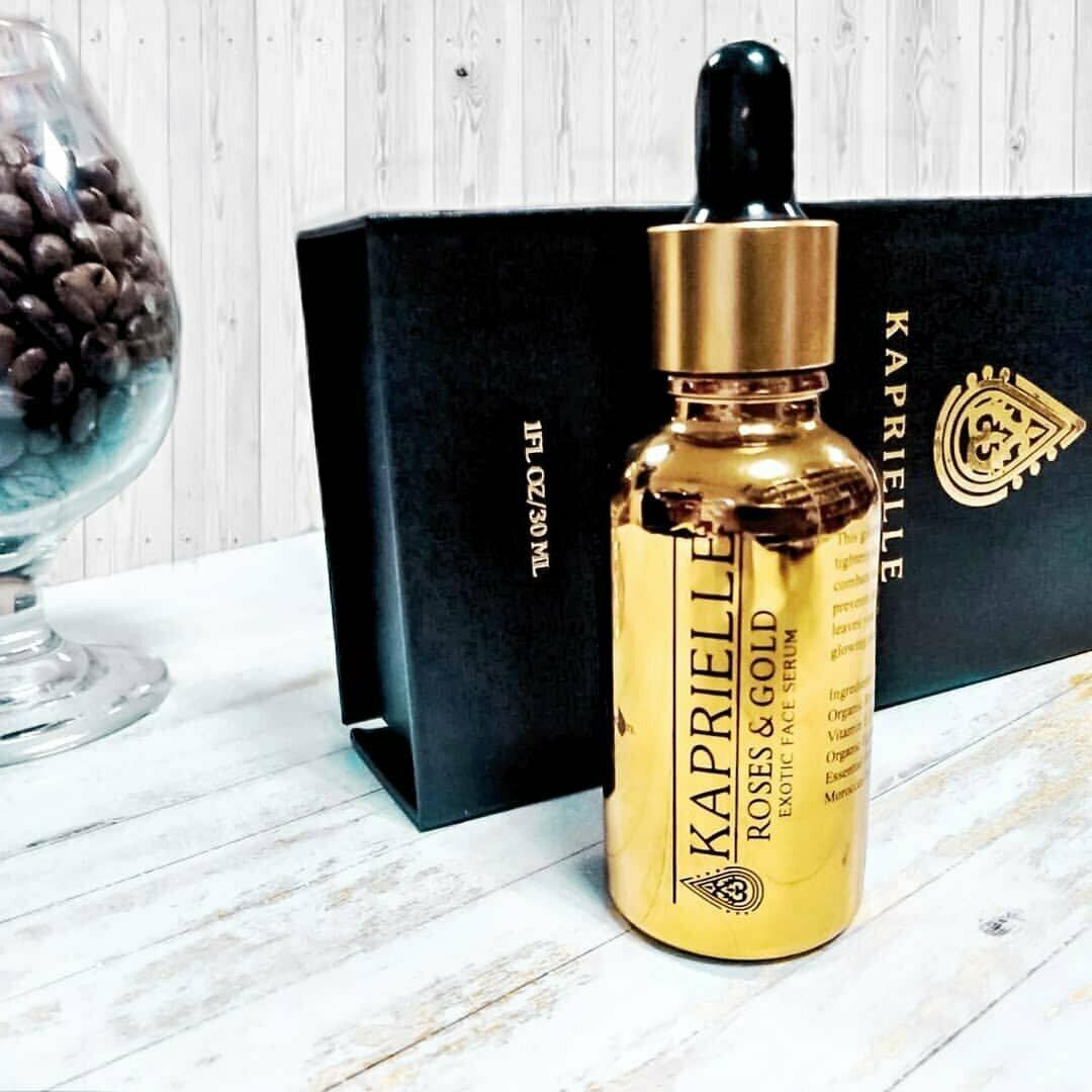 Kaprielle - омолаживающая маска из сусального золота в Невельске