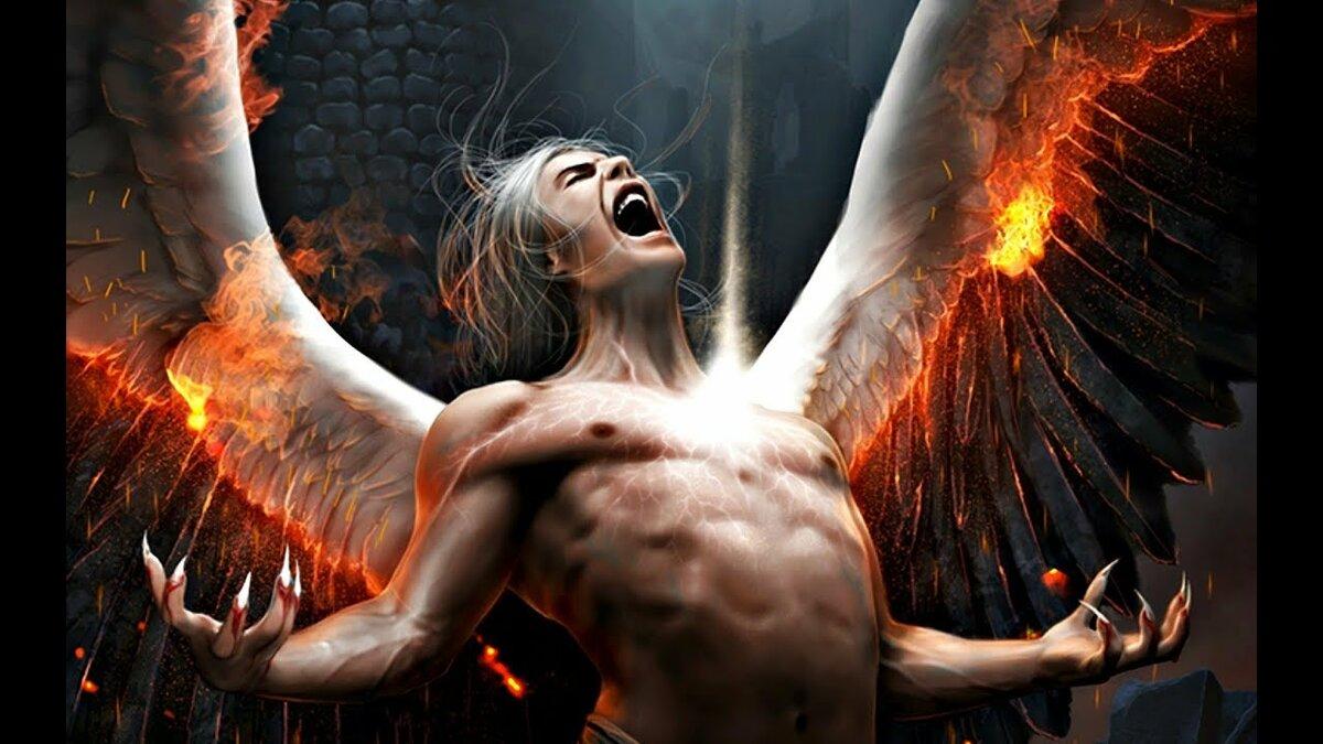 Картинки падший ангел демон
