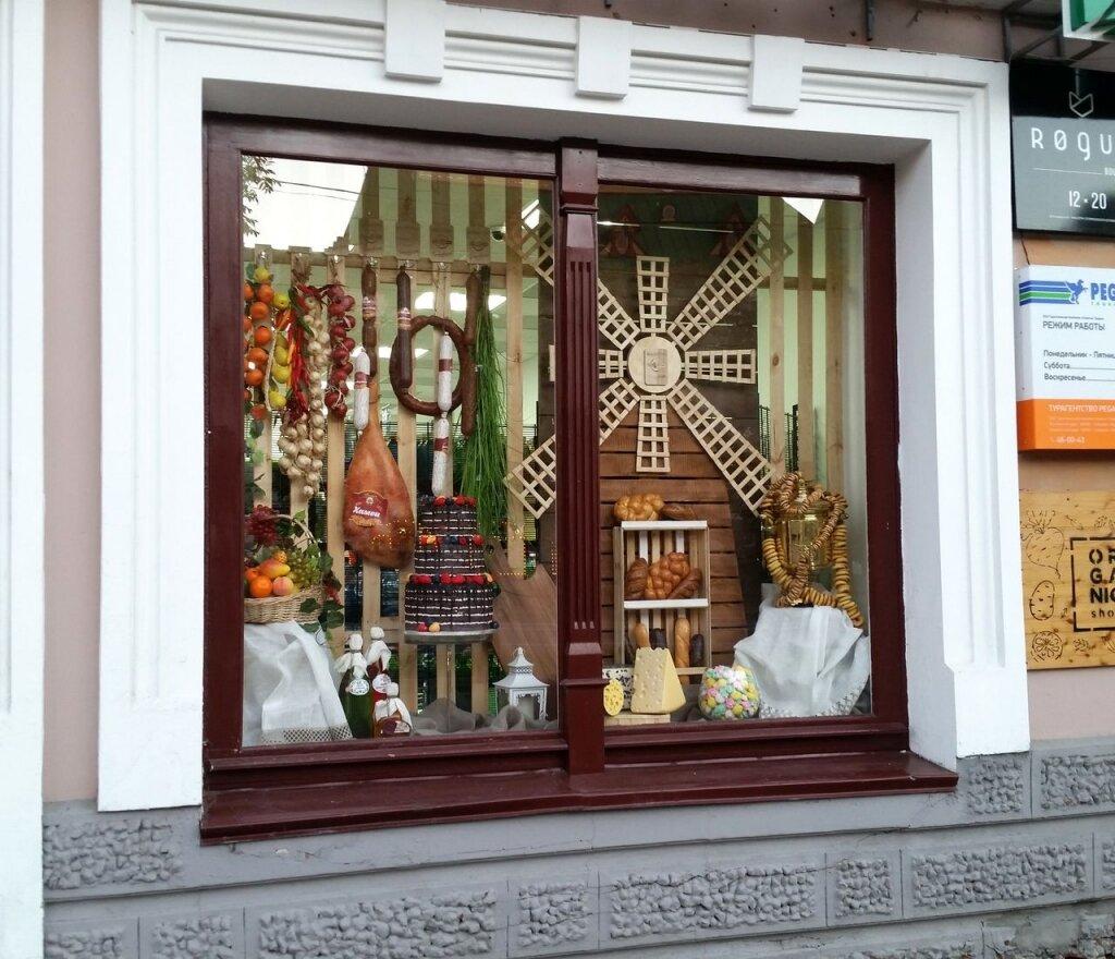 Витрина в магазине картинка