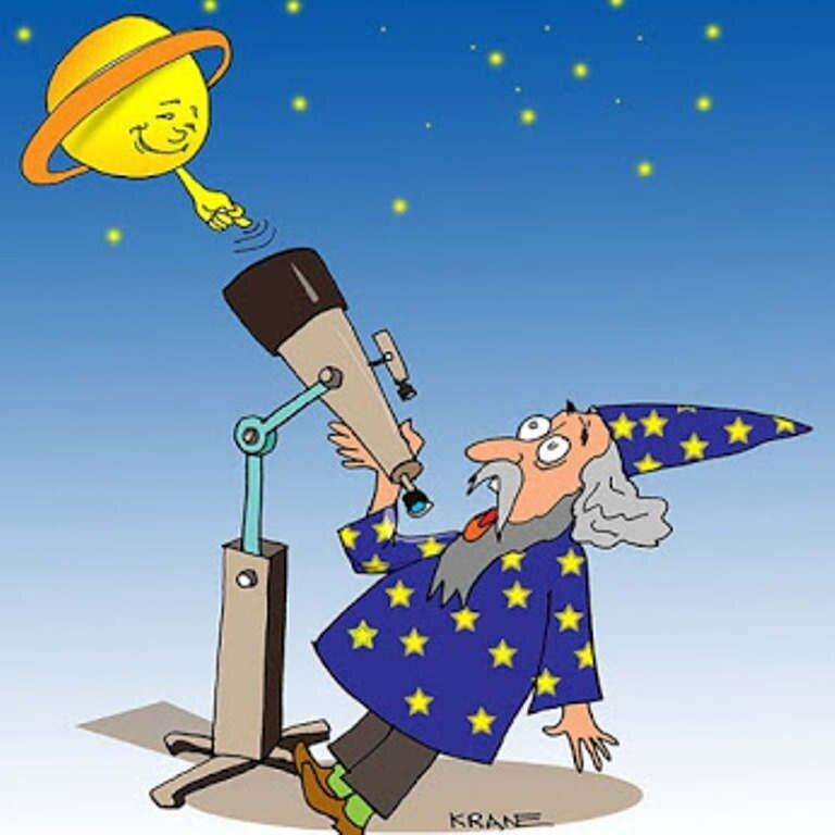 Поздравление юбилеем, смешные астрологические картинки