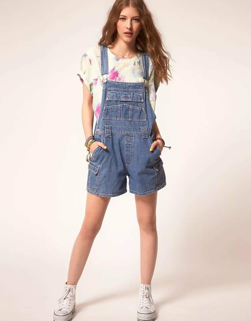 картинки комбинезоны летние джинсовые