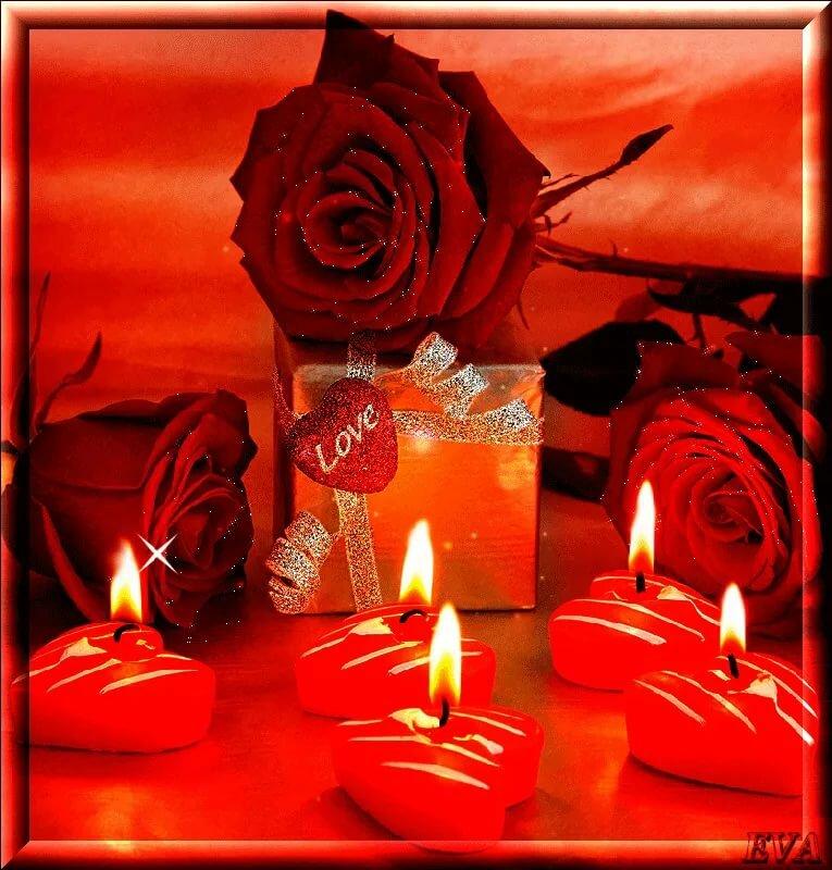 поздравления со словом свеча ромашки, белом
