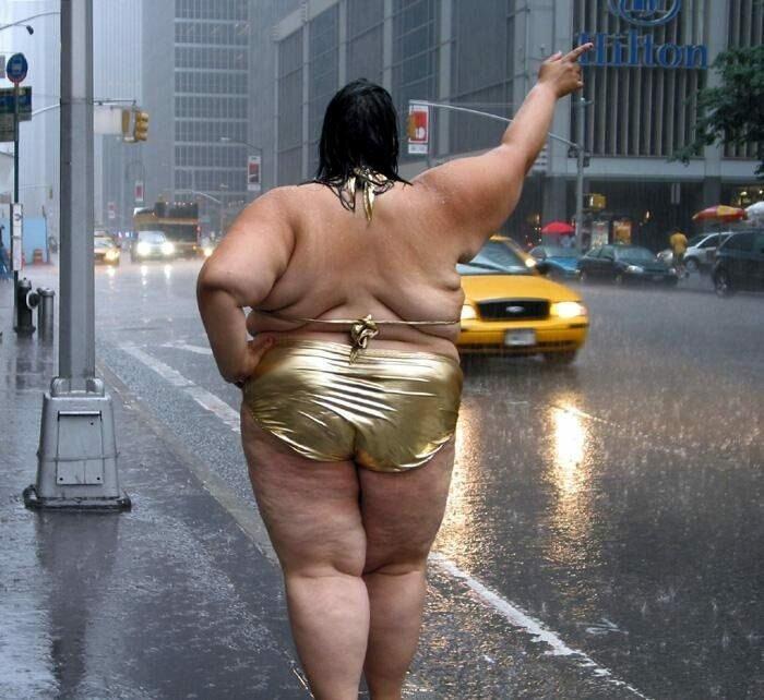 Прикольные картинки про толстых баб, осени