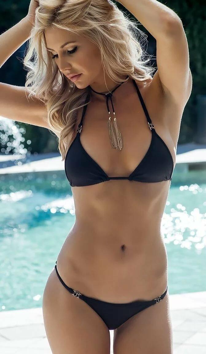 Hot Beautiful Girl Blonde Model In Swimwear Stock Forumophilia 1