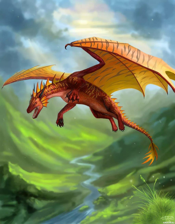 большие картинки с драконами все животные являются