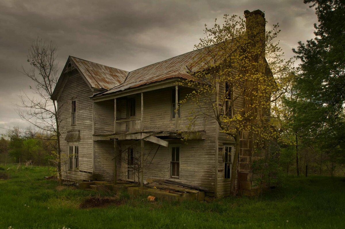 Картинки страшные здания