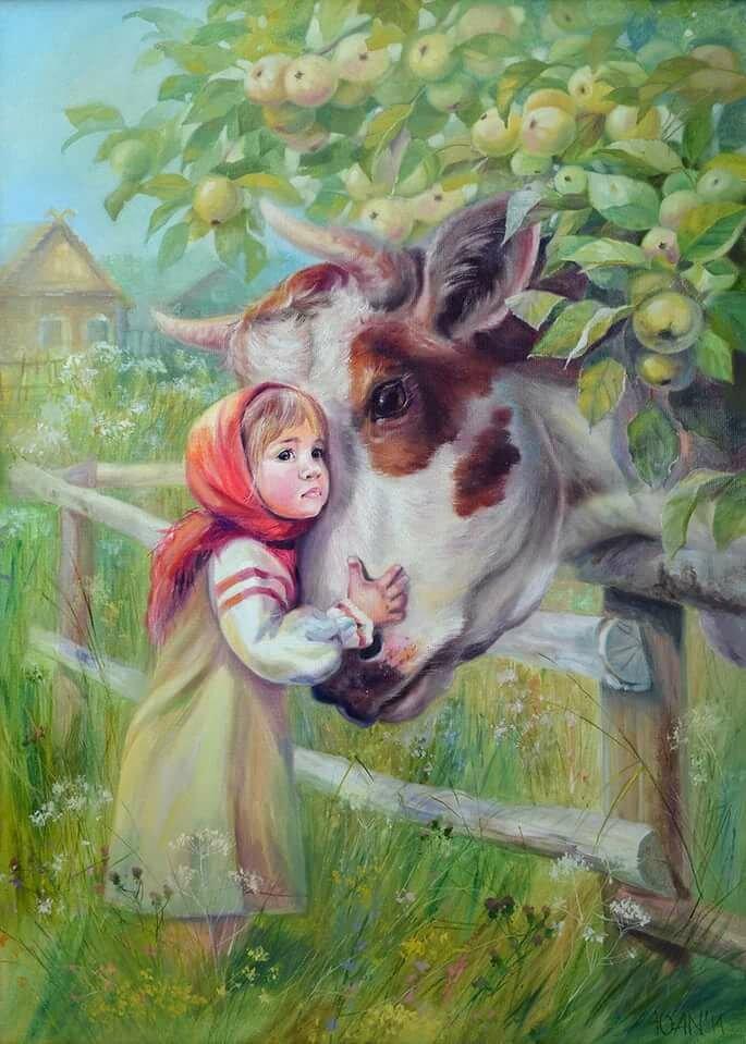 Картинки сказки хаврошечка для детей