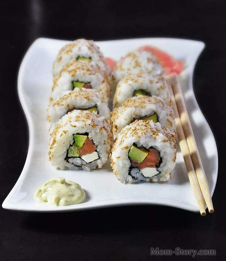 Все рецепты суши в картинках